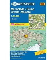 Tabacco Karte N.015  Marmolada-Pelmo-Civetta-Moiazza - 1:25.000, 1:25.000
