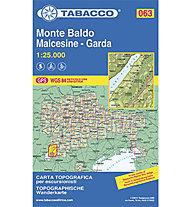 Tabacco Karte N. 063 Monte Baldo-Malcesine-Garda, 1:25.000