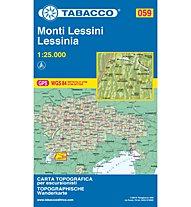 Tabacco Karte N.059 Monti Lessini - Lessinia - 1:25.000, 1:25.000