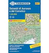 Tabacco N° 017 Dolomiti di Auronzo e del Comelico (1:25.000), 1:25.000