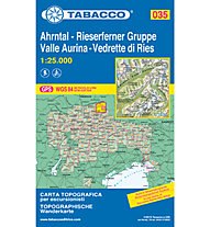 Tabacco N° 035  Val Aurina/Ahrntal-Vedrette di Ries/Riesenfernergruppe (1:25.000), 1:25.000