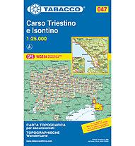 Tabacco N° 047 Carso Triestino e Isontino (1:25.000), 1:25.000