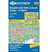 Tabacco Carta N.050 Altopiano dei Sette Comuni - Asiago - Ortigara  - 1:25.000, 1:25.000