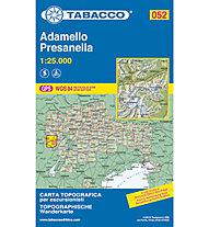 Tabacco N° 052 Adamello, Presanella (1:25.000), 1:25.000