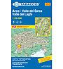 Tabacco Karte N.055 Valle del Sarca, Arco, Riva del Garda, Valle dei Laghi - 1:25.000, 1:25.000