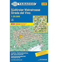 Tabacco N° 49 Südtiroler Weinstrasse/Strada del vino (1:25.000), 1:25.000