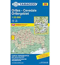 Tabacco N° 08 Ortles-Cevedale/Ortlergebiet (1:25.000), 1:25.000