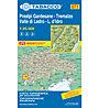 Tabacco Carta N. 071 Prealpi Gardesane - Tremalzo - Valle di Ledro - L.d'Idro (1:25.000), 1:25.000