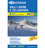 Tabacco Skipistenkarte Valli Ladine e Sellaronda 1:25.000 1:50.000, 1:25.000 / 1:50.000