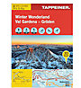 Tappeiner Verlag Winter Wonderland - Gröden N.135 - Wanderkarte, 1:25.000