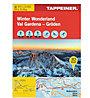 Tappeiner Verlag Winter Wonderland - Val Gardena N.135 . carta topografica, 1:25.000