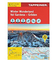 TAPPEINER Winter Wonderland - Gröden N.135 - Wanderkarte, 1:25.000