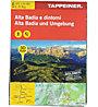 Tappeiner Verlag Alta Badia und Umgebung N.129 - Wanderkarte, 1:25.000