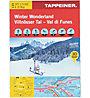 Tappeiner Verlag Winter Wonderland - Villnösser Tal N.134 - Wanderkarte, 1:25.000