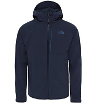 The North Face Apex Flex Shell GTX Jkt Herren Wander- und Bergjacke mit Kapuze, Blue