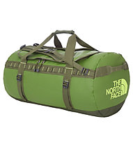 The North Face Base Camp Duffel L, Adder Green/Safety Green