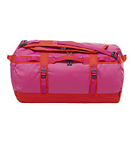 The North Face Base Camp Duffel S - Rucksacktasche, Fuchsia Pink/Fiery Red