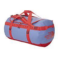 The North Face Base Camp Duffle M, Vintage Blue/Tomato Red