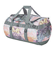 The North Face Base Camp Duffle M, Ballet Pink Hawaiian Sunrise Print