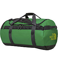 The North Face Base Camp L (95L) - Rucksack/Reisetasche, Green/Black/Yellow