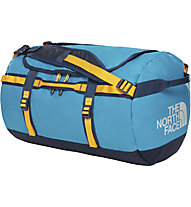 The North Face Base Camp S (50L) - Rucksack/Reisetasche, Light Blue/Blue/Yellow