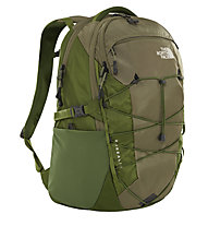 The North Face Borealis 28L - zaino daypack, Beige/Green