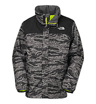 The North Face Novelty Resolve Jacke Kinder, Black Camo
