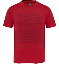 The North Face Reaxion - T-Shirt trekking - bambini, Red