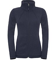 The North Face Crescent full zip Giacca in pile, Blue