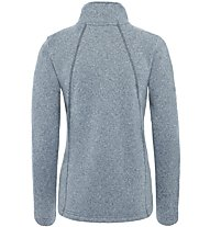 The North Face Crescent - giacca in pile - donna, Grey