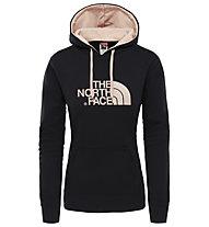 The North Face Drew Peak - felpa con cappuccio trekking - donna, Black