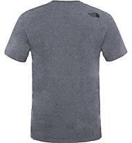 The North Face Easy Tee Herren T-Shirt, Grey