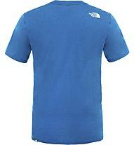The North Face Easy Tee Herren T-Shirt, Light Blue