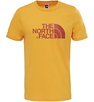The North Face Easy Tee T-shirt trekking, Yellow