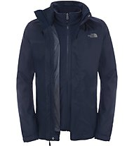 The North Face Evolve II Triclimate - Doppeljacke Trekking - Herren, Blue