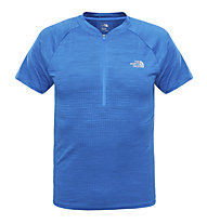 The North Face Flight Series s/s 1/4 Zip T-Shirt Running, Blue