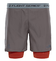 The North Face Flight Series Warp Knit - Kurze Laufhose - Herren, Brown/Orange