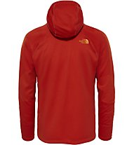 The North Face Fuse Form - Trekking Fleecejacke mit Kapuze - Herren, Red