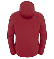 The North Face Fuseform Montro Insulated - Wanderjacke mit Kapuze - Herren, Red