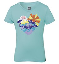 The North Face Hike T-Shirt Mädchen, Bonnie Blue