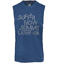 The North Face Graphic Reaxion Amp - Top - Herren, Blue