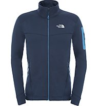 The North Face Hadoken Full Zip Giacca in pile, Blue