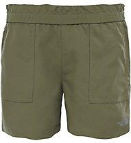 The North Face Hike Water Short Mädchen Wanderhose kurz, Green