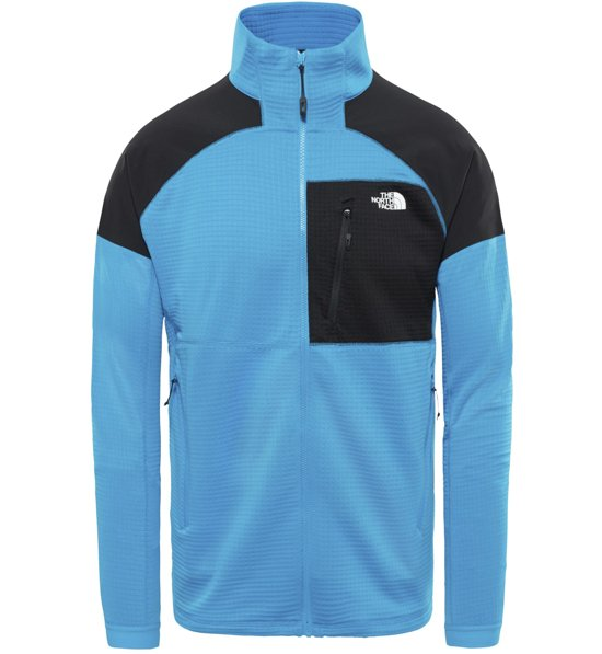 The North Face Impendor Grid - giacca in pile trekking - uomo ... 4123f687a1d5