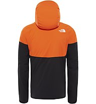 The North Face Impendor Insulated - Hardshelljacke mit Kapuze - Herren, Orange/Black
