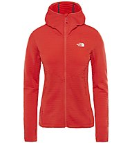 The North Face Impendor Light Midlayer - Fleecejacke Trekking - Damen, Red