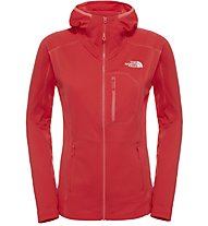 The North Face Incipient - Giacca in pile trekking - Donna, Red