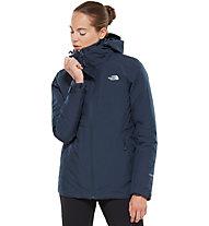 The North Face Inlux Tricliamte - giacca a vento con cappuccio - donna, Blue