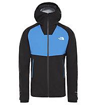 The North Face Keiryo Diad II - giacca antipioggia - uomo, Black/Light Blue