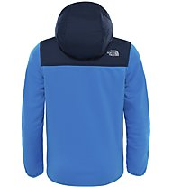 The North Face Kickin Lt Hoodie Kinder Fleecejacke mit Kapuze, Blue
